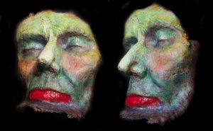 LINCOLN DEATH MASK STUDY 1