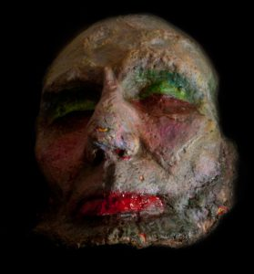 LINCOLN DEATH MASK STUDY 2