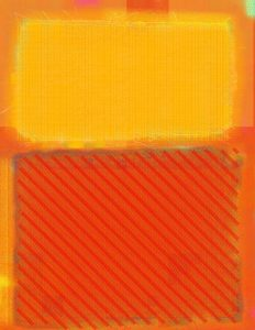 Orange and Yellow After Mark Rothko