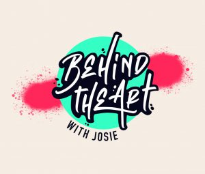 Behind the Art with Josie logo