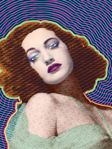 Portrait of Dorothy Lamour