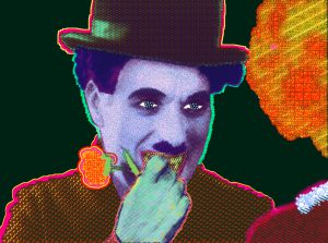 How 'bout now? (Portrait of Charlie Chaplin)