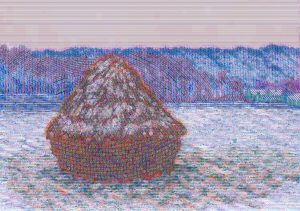 Stack of Wheat after Claude Monet